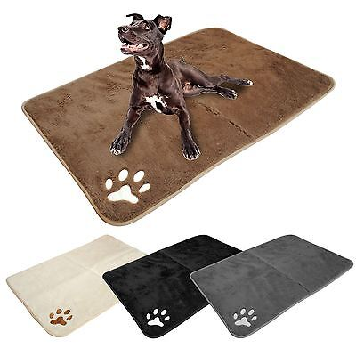 Large Super Soft Pet Mat Puppy Dog Cat Placemat Cushion Warm Winter Bed Max Care