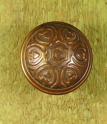 SET of VICTORIAN DOOR KNOBS - SIX FOLD SYMMETRY  1900 (BLUMIN J-301) (5749)