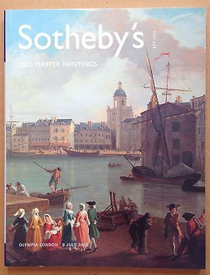 OLD MASTER PAINTINGS Sothebys Auction Catalog 7 2002 PRICE GUIDE ART ANTIQUE