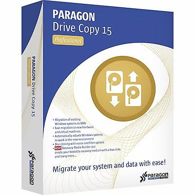 Paragon Drive Copy 15 Professional - [Download] + $20 worth GIFT