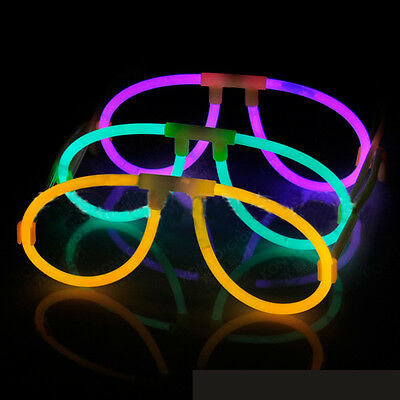 Glow Stick Glasses for Parties Favors Night Clubs Glow Eyeglasses Light up Toy