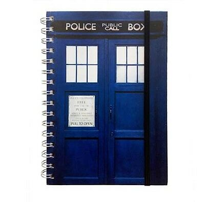 Doctor Who - Tardis - A5 Notebook #