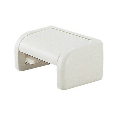 KAKUDAI One Touch Toilet Paper Holder Wall Mounted Ivory JAPAN