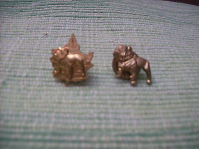 Vintage Mack Truck Bulldog Gold Tone Advertising Pin Nice Pre_Owned W Back