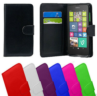 Flip Wallet Pu Leather Phone Case Cover for Samsung Sony LG HTC Nokia & More