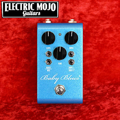 RockBox Baby Blues Distortion Boost Overdrive Pedal