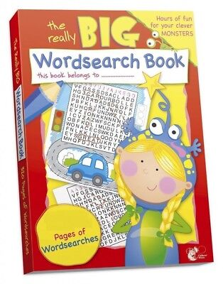 A4 Pages Wordsearch Book Children Kids Word Search Book Giant Big Puzzles