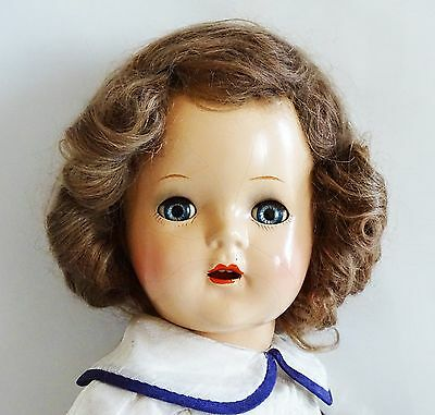 "FABULOUS Early C. 1932 Nancy 16"" Composition Vintage Doll"