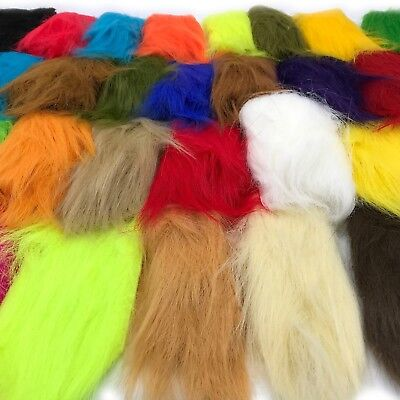 EXTRA SELECT CRAFT FUR Fly Tying Synthetic Hair Saltwater Streamer Material NEW!