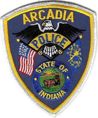 Arcadia Police Indiana patch NEW