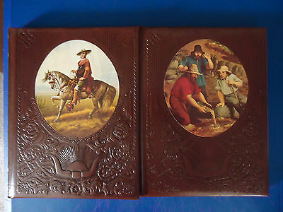 Lot of 2 Time/Life The Old West Books(The FortyNiners&The Spanish West)