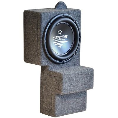 Audio System R10 FLAT subwoofer with Fit-Box BMW X5 E53 enclosure