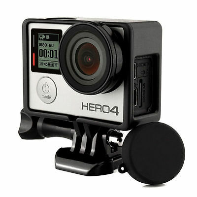 Standard Border Frame Housing Case + UV Lens + Protector for GoPro Hero 4 3+ 3