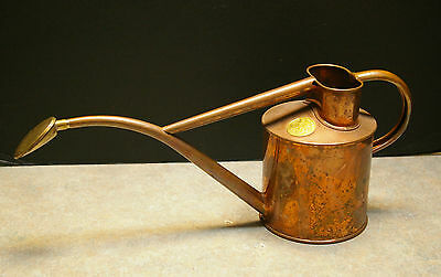 Original 'haws' Indoor Copper 1L Watering Can - Made In England