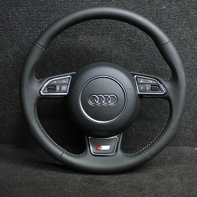 Audi A1 8X S-Line Steering Wheel 3 Spokes With Airbag 2014