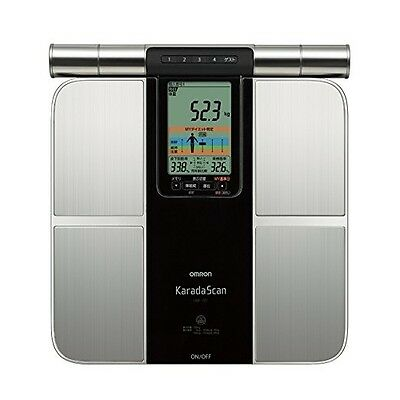 OMRON KARADA Scan Body Composition meter diet decision function HBF-701 JAPAN