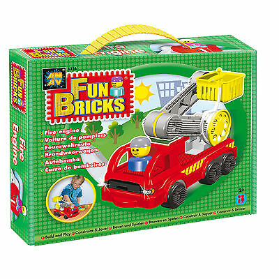 AMAV - Fun Bricks Fire Engine (Stickle Bricks)