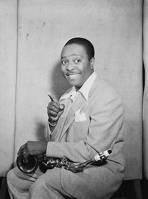 Louis Jordan Big Band Jazz Player Glossy Photo Music Print Poster A4