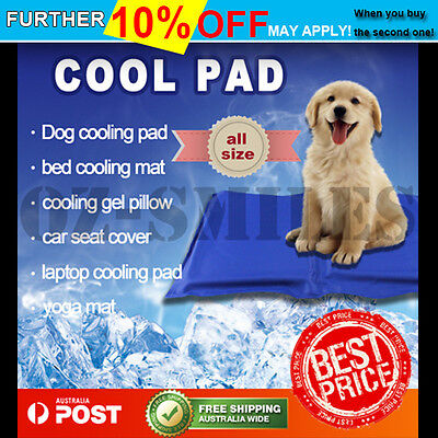 Multi Summer Pad Non-Toxic Cool Cooling Gel Mat Pet Bed Dog Cooling Cat