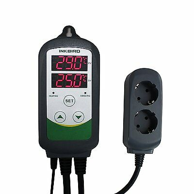 Inkbird ITC-308 Temperature controller thermostat Pre-wired EU Plug 100V-240V