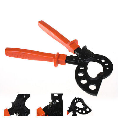 HS-765 Ratchet Cable Cutter Cable Cutting Tool 400mm² Max Adjustable Handle