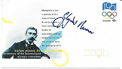 Glynis Nunn Hand Signed  First Day Cover ~ Centenary Of The Olympics