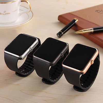Bluetooth Smart Wrist Watch Touch screen Phone Mate GPRS for Android Samsung