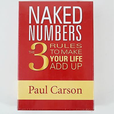 Naked Numbers The 3 Rules to Make Your Life Add Up - Paul Carson Maths CD Book