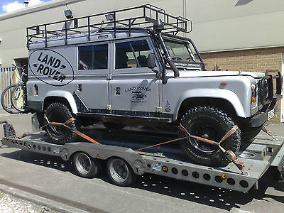 Car Delivery Service. Landrover Transport Cardiff South Wales