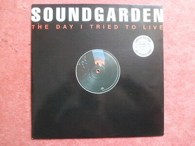 "Soundgarden -The Day I Tried To Live Limited Edition Etched Vinyl 12"" Vinyl"