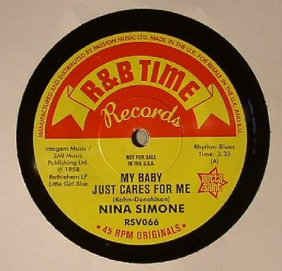 """SIMONE, Nina - My Baby Just Cares For Me - Vinyl (7"""")"""