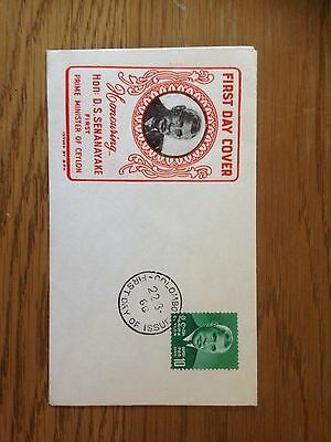 3x Ceylon First Day Covers