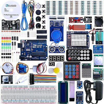 Elegoo UNO R3 Project The Most Complete Ultimate Starter Kit w/ TUTORIAL UNO ...