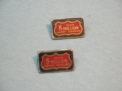 "American Flyer ""8 MILLION"" Plates  for Standard gauge Trains"