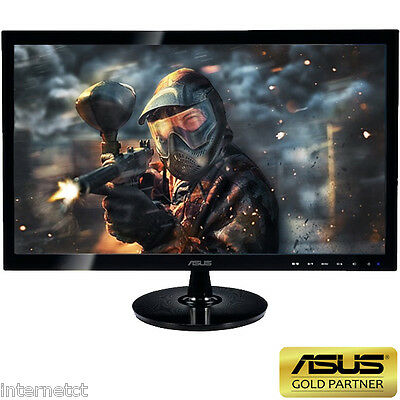 "ASUS 27"" VS278H 1MS WIDESCREEN 2x HDMI VGA GAMING SCREEN WITH BUILT IN SPEAKERS"