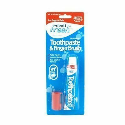 Hatchwells Toothpaste & Finger Toothbrush Starter Kit 45g