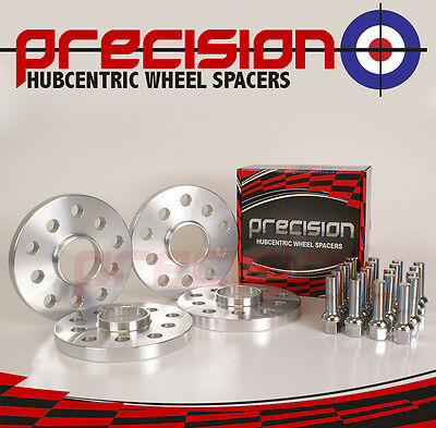 VW Golf MK4 1997-2004 ~ 4 Hubcentric 15mm Alloy Wheel Spacers With Radius Bolts