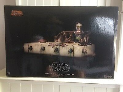 Jabba's Throne Environment 1:6 Scale Scum & Villainy Sideshow Collectibles New