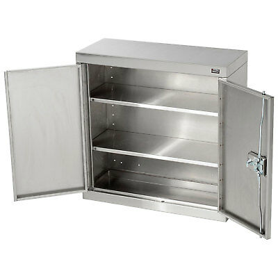 """Wall Cabinet, Stainless Steel, 30""""W x 12""""D x 30""""H"""