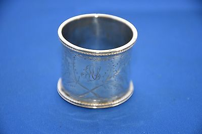 Silver Napking Ring - London 1873 by William Edwards - hallmarks slightly rubbed