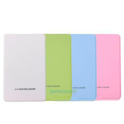 "USB 2.0 2.5"" Hard Drive External IDE Enclosure HDD Mobile Disk Box Case for PC"