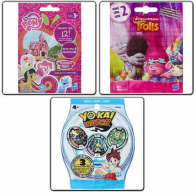 Sealed Blind Bag Figure Figures My Little Pony / Trolls / Yokai Watch Medals