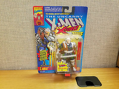 Toy Biz Marvel X-Men/X-Force 1993 3rd Edition Cable action figure Brand New!