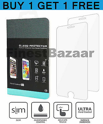 100% Genuine Tempered Glass Screen Protector Film For Apple Iphone 7 / 8