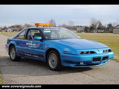 1991 Pontiac Grand Prix GT Coupe 2-Door MAKE OFFER 1991 GRAND PRIX GTP DAYTONA 500 PACE CAR  (THE REAL ONE)