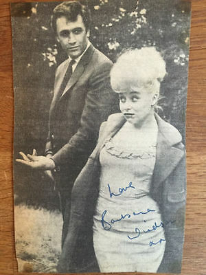 Authentic Barbara Windsor Autograph 1963 ATV Studios in Birmingham