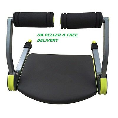 Body Exercise System Ab Workout Fitness Train Home Gym