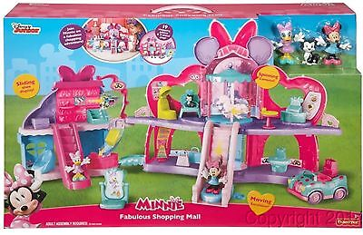 Fisher Price Disney Minnie Mouse Fabulous Shopping Mall New