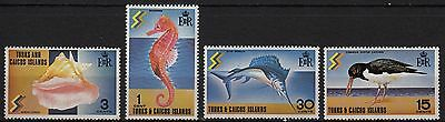 V3) x4 TIMBRES stamps (Neuf**MNH TBE) TURKS & CAICOS ISLANDS