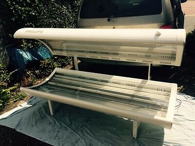 Philips Double 20 Tube Sunbed Brand New Tubes COLLECTION ONLY CH4
